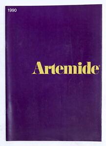 Design-Arredamento-Catalogo-Artemide-1990-Lampade-mobili-e-oggetti