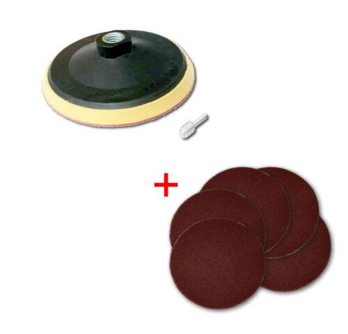 1 Stück STÜTZTELLER 150mm GRATIS 150 SCHLEIFSCHEIBEN 150mm Korn 40 ohne Loch