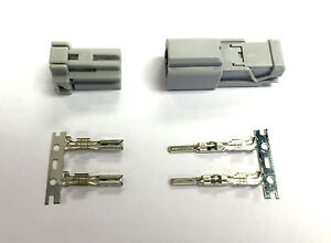 Sumitomo Electrical Connector Kit HD Unsealed for OEM Car 2P 2