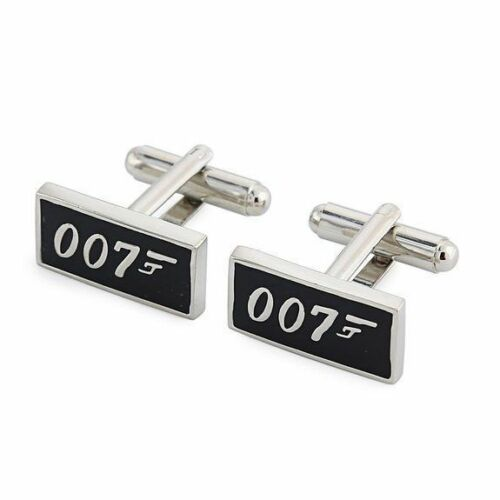In Gift Box FREE POST James Bond 007 Cufflinks Mens Business Shirt Sleeve Cuff