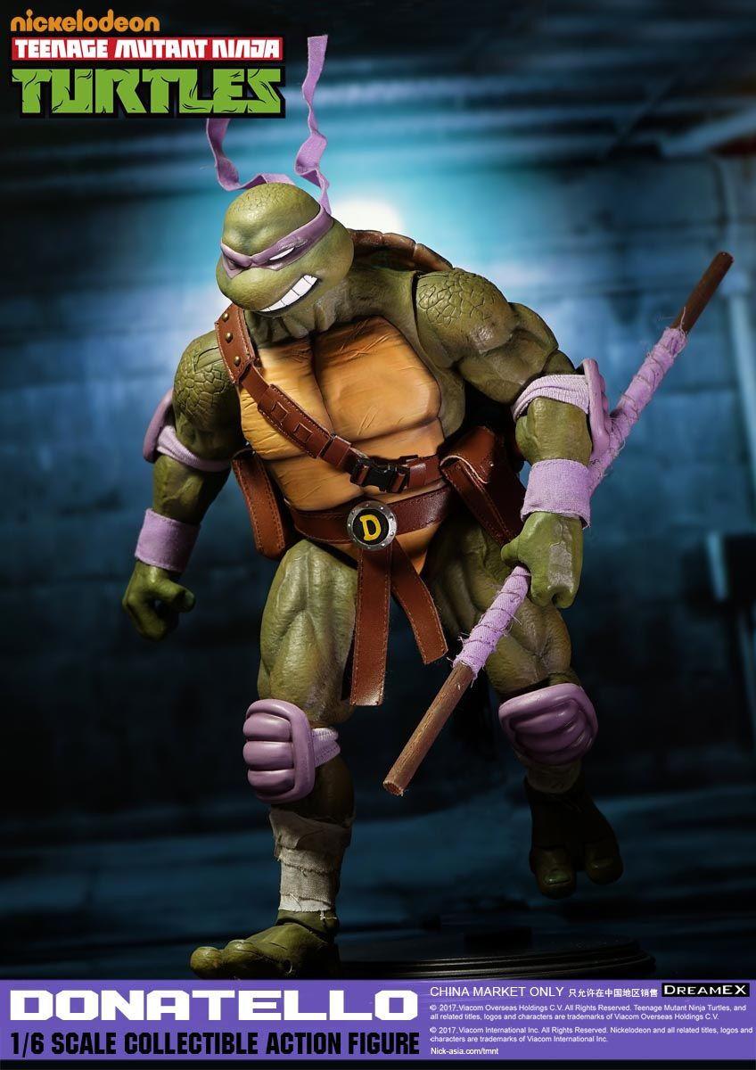 Traum - tmnt donatello 1   6 - skala actionfigur teenage mutant ninja turtles