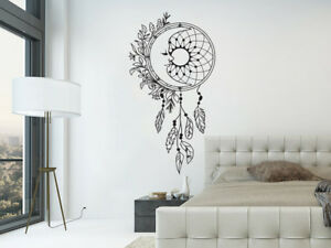 Details About Dream Catcher Wall Decals. Moon Wall Stickers. Boho Bohemian  Bedroom Decor NV290