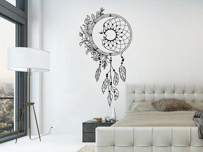 Dream Catcher Wall Decals. Moon Wall Stickers. Boho Bohemian Bedroom Decor  NV290 | eBay