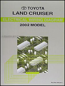 new 2002 toyota land cruiser wiring diagram manual electrical rh ebay ie land cruiser radio wiring diagram land cruiser radio wiring diagram
