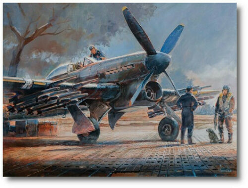 Preparing For Action by Keith Burns - Hawker Typhoon -  Aviation Art Print