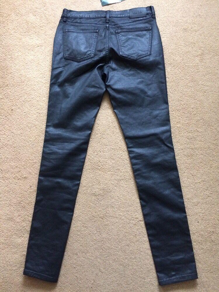 Ralph Lauren Donna Moderna Jeans Skinny rivestito di nero, UK8, W30 , L31 , .