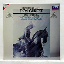 STRAUSS: Don Quixote   Harrell Cleveland Ashkenazy / Decca LP digital Holland NM