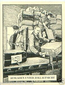 Germany-Unloading-customs-supervision-TOBACCO-HISTORY-HISTOIRE-DU-TABAC-CARD-30s