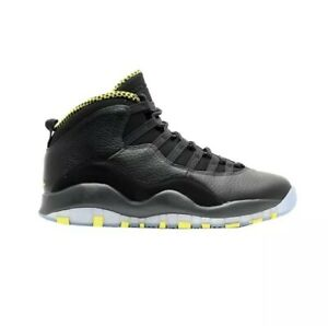 buy popular 542d6 69cb3 Details about Air Jordan Retro 10 Venom Black And Green Size 12