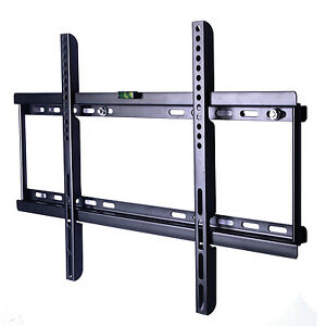 Ultra Slim Tv Wall Mount Bracket Fit Led Lcd Plasma Flat