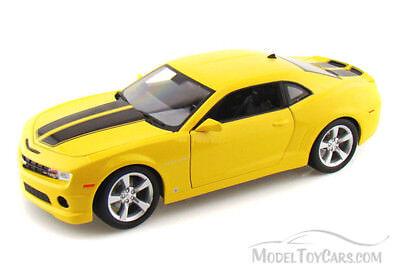 2010 CHEVROLET CAMARO SS RS YELLOW 1//18 DIECAST MODEL CAR BY MAISTO 31173