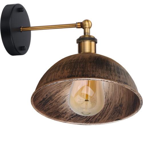 Industrielle Moderne Rétro Vintage Rustique appliques murale lampe Montage Luminaire UK