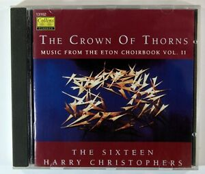 The Crown Of Thorns - The Sixteen, Harry Christopher (CD) Excellent