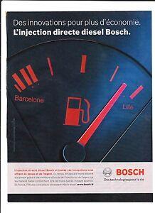 BOSCH-INJECTION-DIRECTE-Publicite-de-Magazine-Magazine-advertisement-2012
