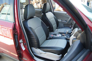 Image Is Loading SUBARU FORESTER 2014 IGGEE S LEATHER CUSTOM FIT