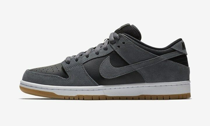 Nike SB Dunk Low TRD AR0778-001 Grey/Black/Gum Ultimate Stake boarding Shoes Men