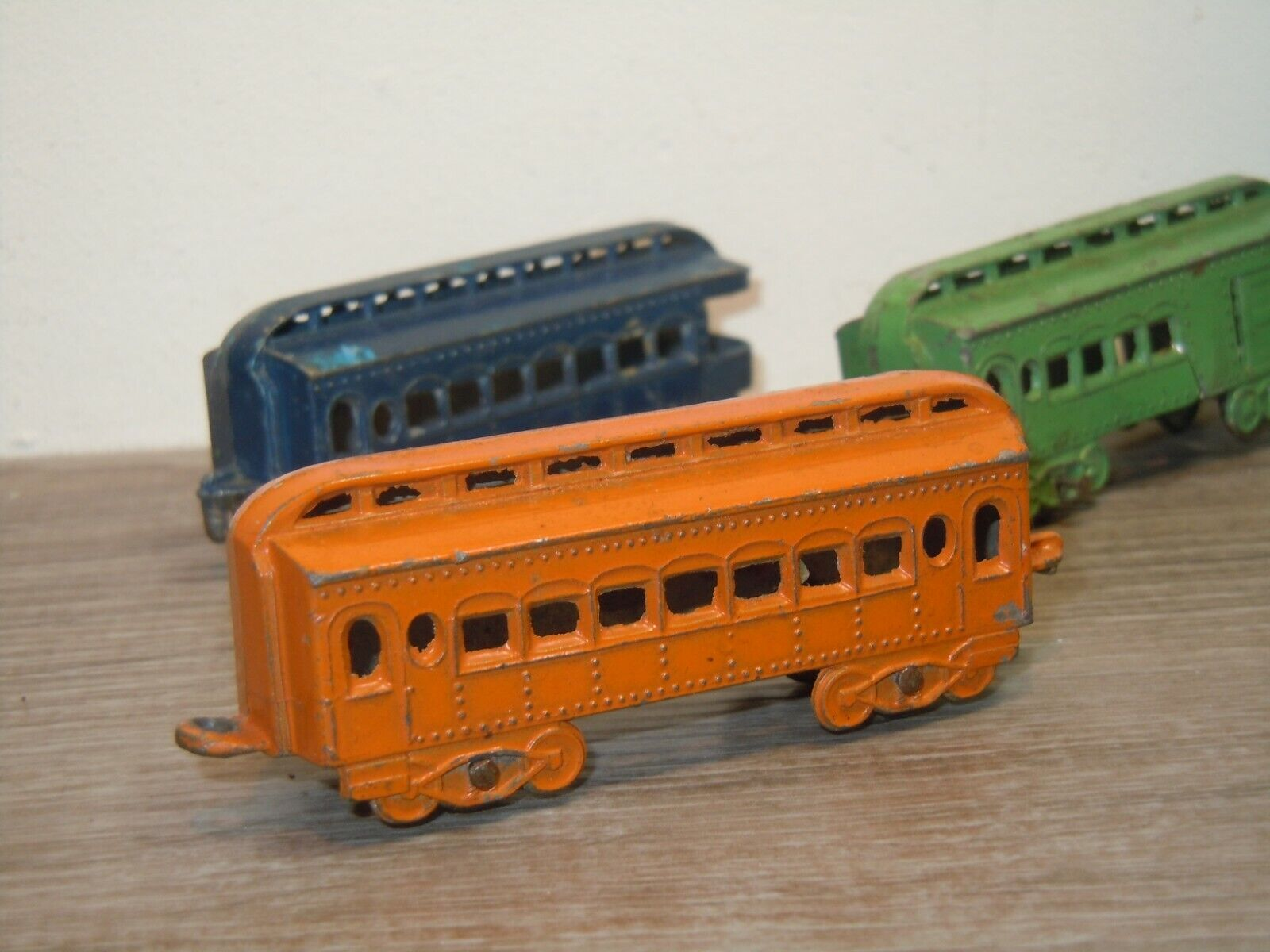 Locomotive & 3 Wagons - Tootsie Toy Toy Toy 37161 d22245