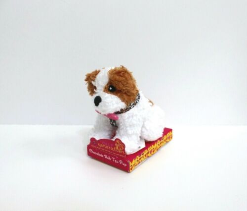 """Our Generation Chocolate Shih Tzu Pup Mini Loyal Pup Collection Plush 3.5/"""""""