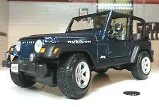Jeep Rubicon Wrangler 4.0 V8 4x4 LGB 1:24 27 Scale Detailed Diecast Maisto Model