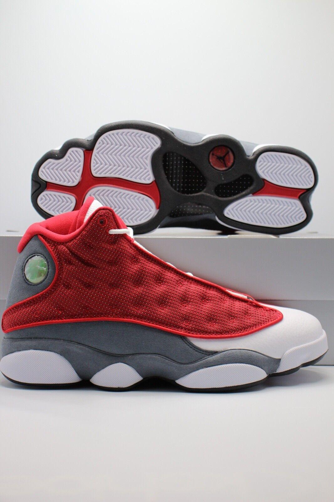 Size 11 - Jordan 13 Retro Low Red Flint 2021