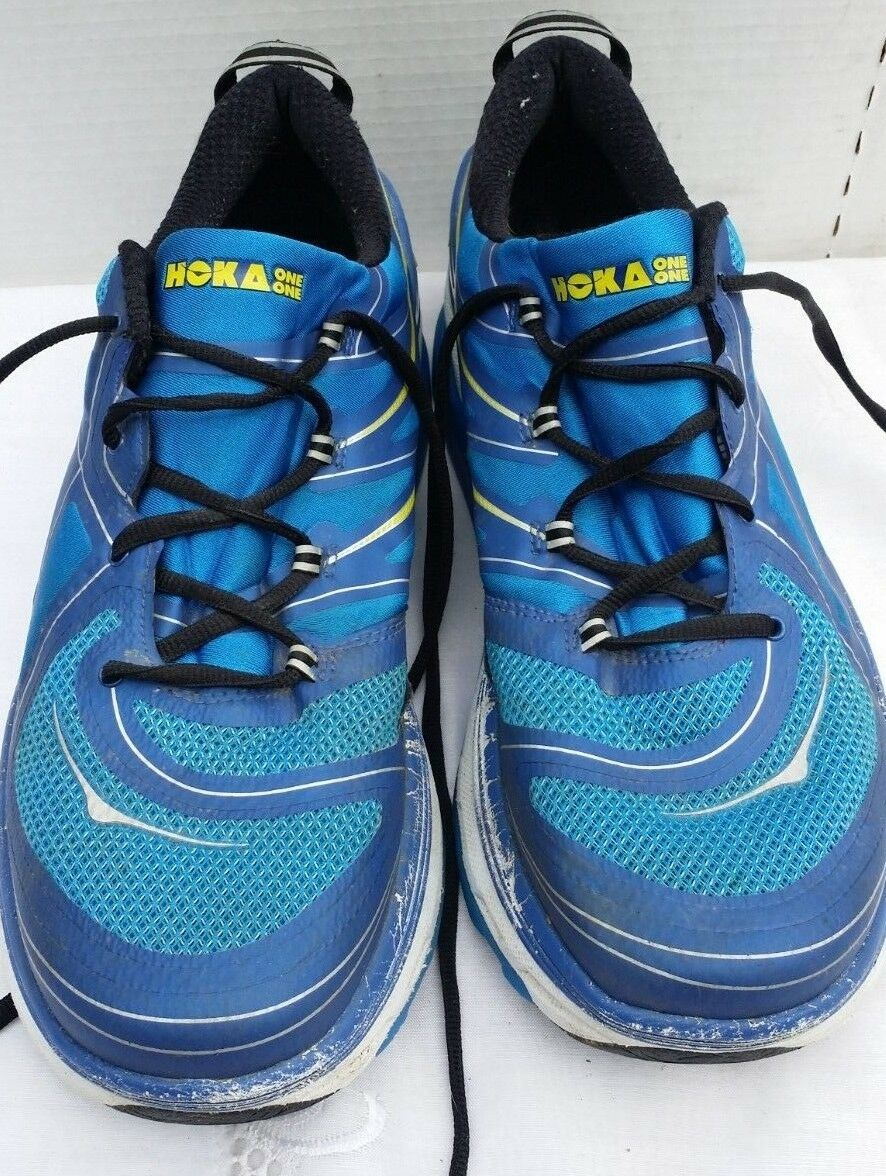 Men's Hoka One One Constant bluee Athletic Running shoes Size 13