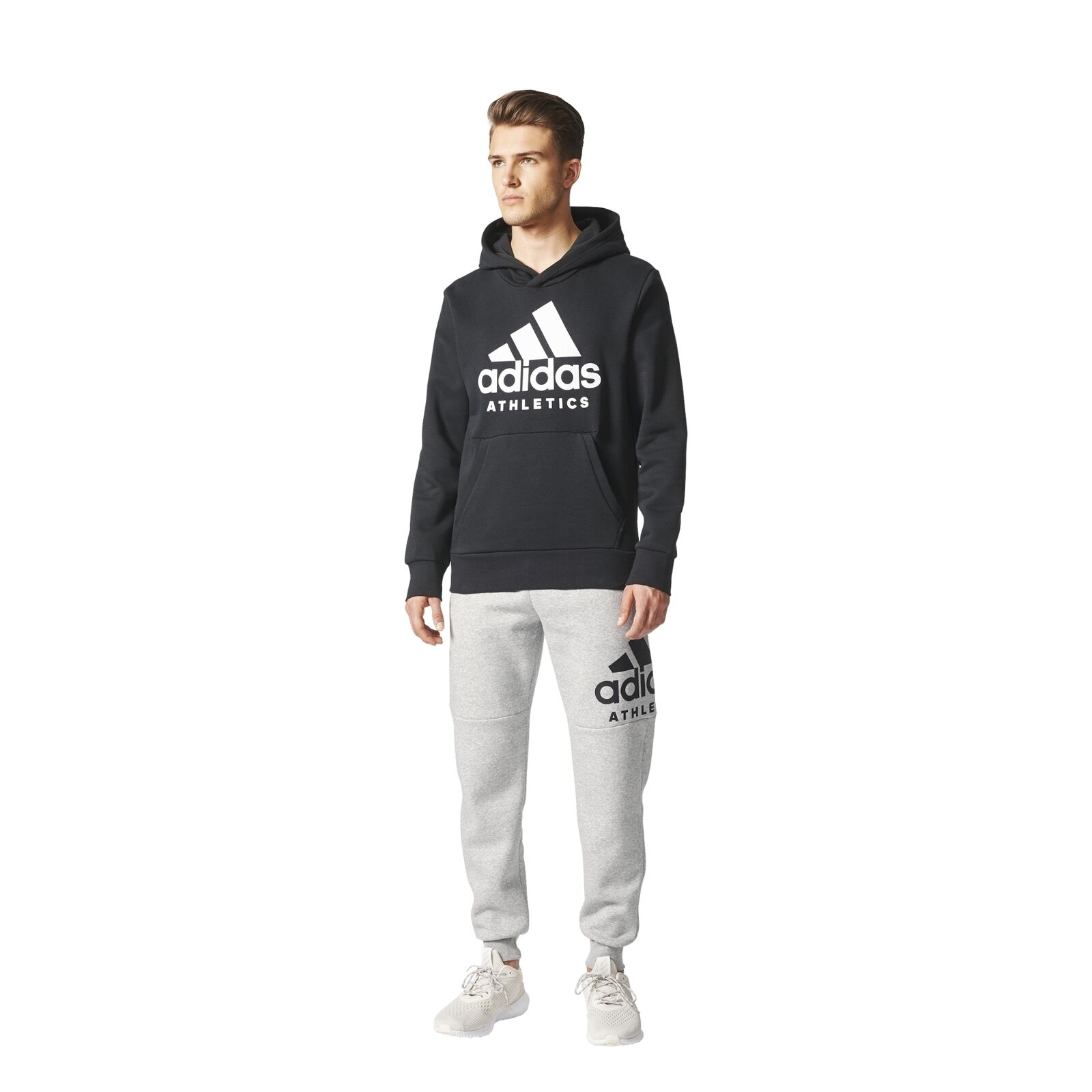 Adidas Performance Sports Id Branded Tapered Pant Fleece Men's Trousers