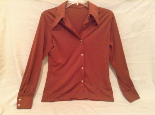 Vintage 1970's Women's Work Daytime Rust Color But