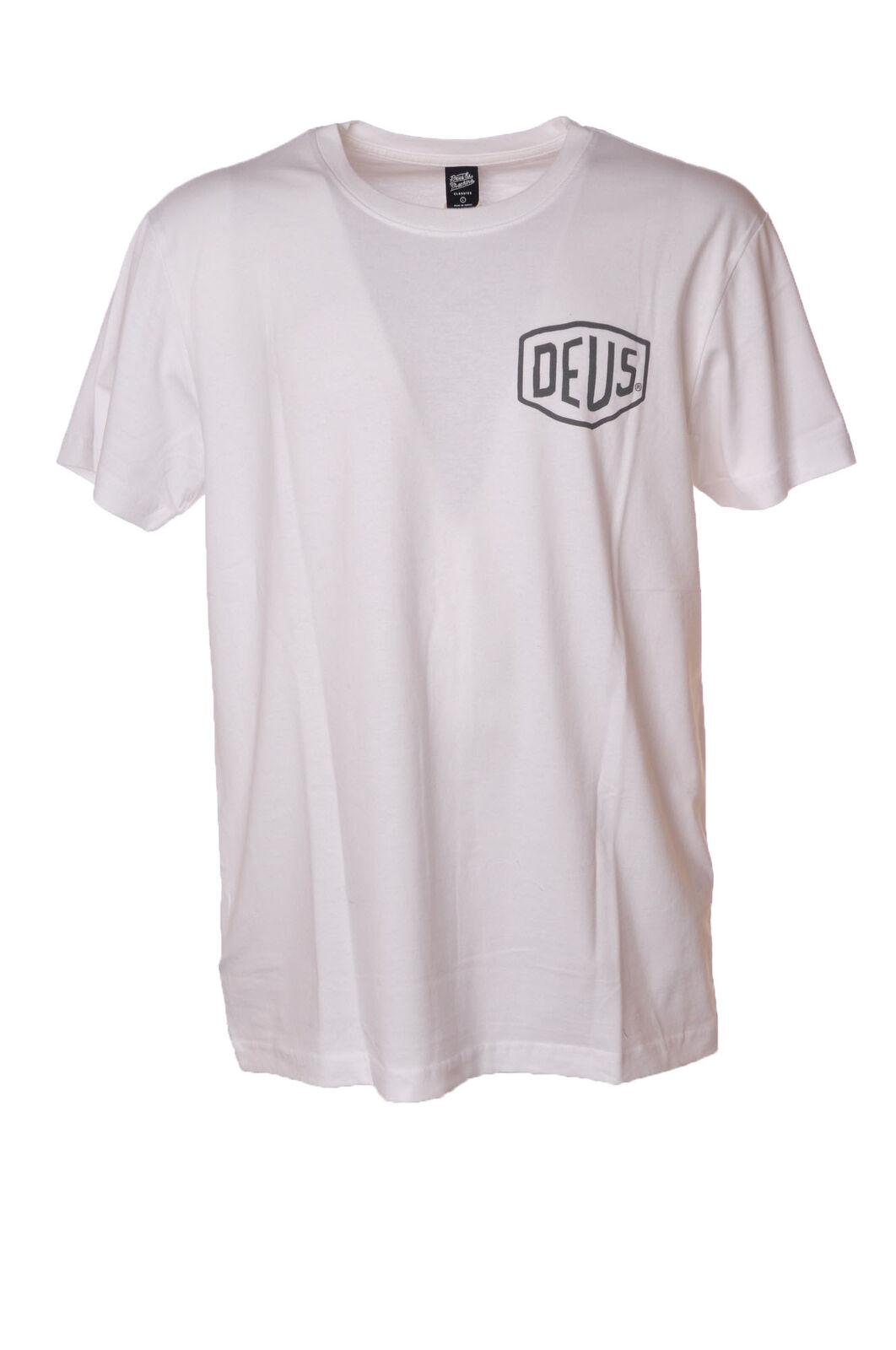 Deus - Topwear-T-shirts - Man - White - 4404215G184246
