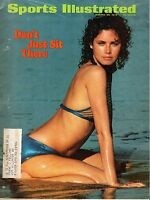 1973 (1/29) Sports Illustrated magazine, Annual Swimsuit Issue, Dayle Haddon ~Fr