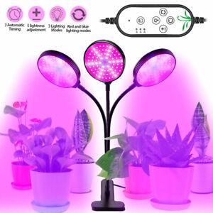LED Pflanzenlampe Grow Light Lamp Wachstumlampe Pflanzenlicht Pflanzen Voll 300W