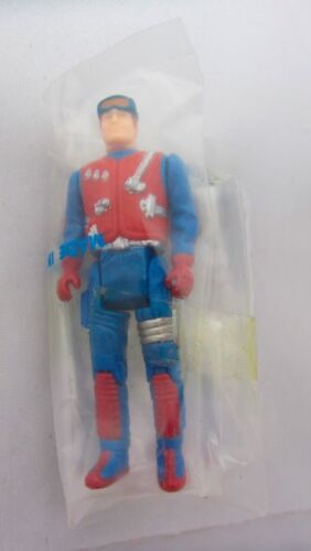 M.A.S.K Dusty Hayes Figura completa in fabbrica sacchetto vintage toy mask Gator 80s
