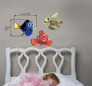 Finding Nemo Dory Wall Stickers Sea Fish Bedroom Bafhroom Decor Children 3x20x30 Ebay