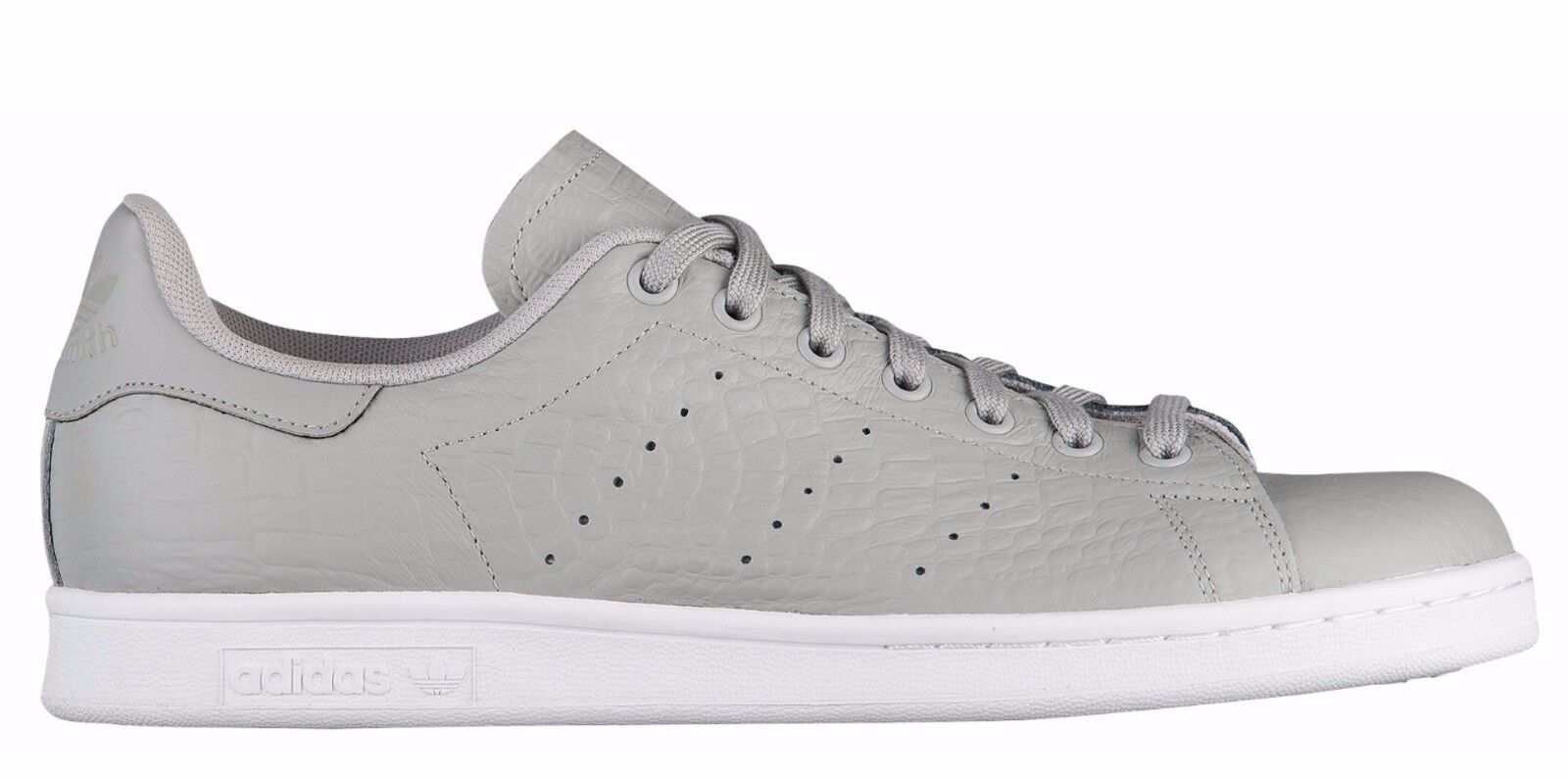 NEW adidas Originals STAN SMITH SNAKESKIN Pattern Gray White AQ2728 c1 rod laver
