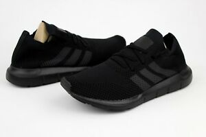 f27bd94a78395 Adidas Swift Run PrimeKnit CQ2893 Black Grey Five Core Black Size ...