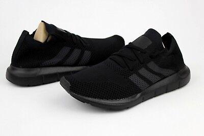 cee936b9057a4 Adidas Swift Run PrimeKnit CQ2893 Core Black Grey Five Core Black Size 9 US