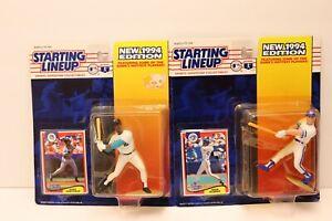 MLB Baseball John Olerud & GARY SHEFFIELD(1994) Starting Lineup Kenner Figure