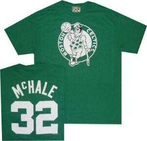 wholesale dealer 4e102 bba8d Details about New Boston Celtics Kevin Mchale Throwback Majestic Shirt