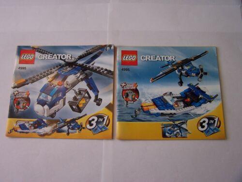 Lego ® recipe//instruction no 4995