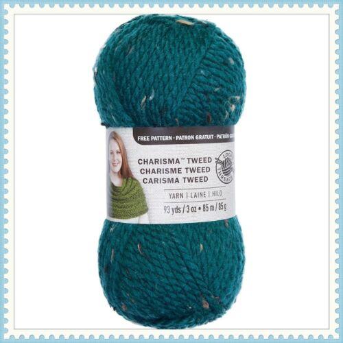 Blue Loops /& Threads Charisma Tweed Yarn