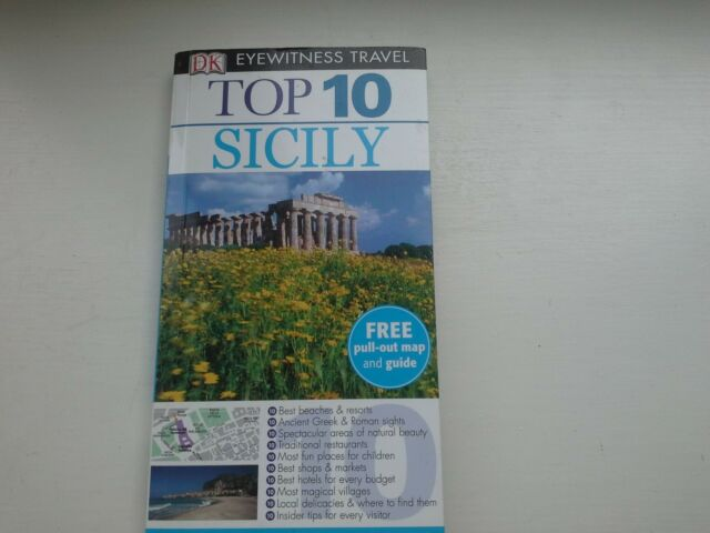 Top 10 Sicily - DK Eyewitness Travel (Free Pull out Map)