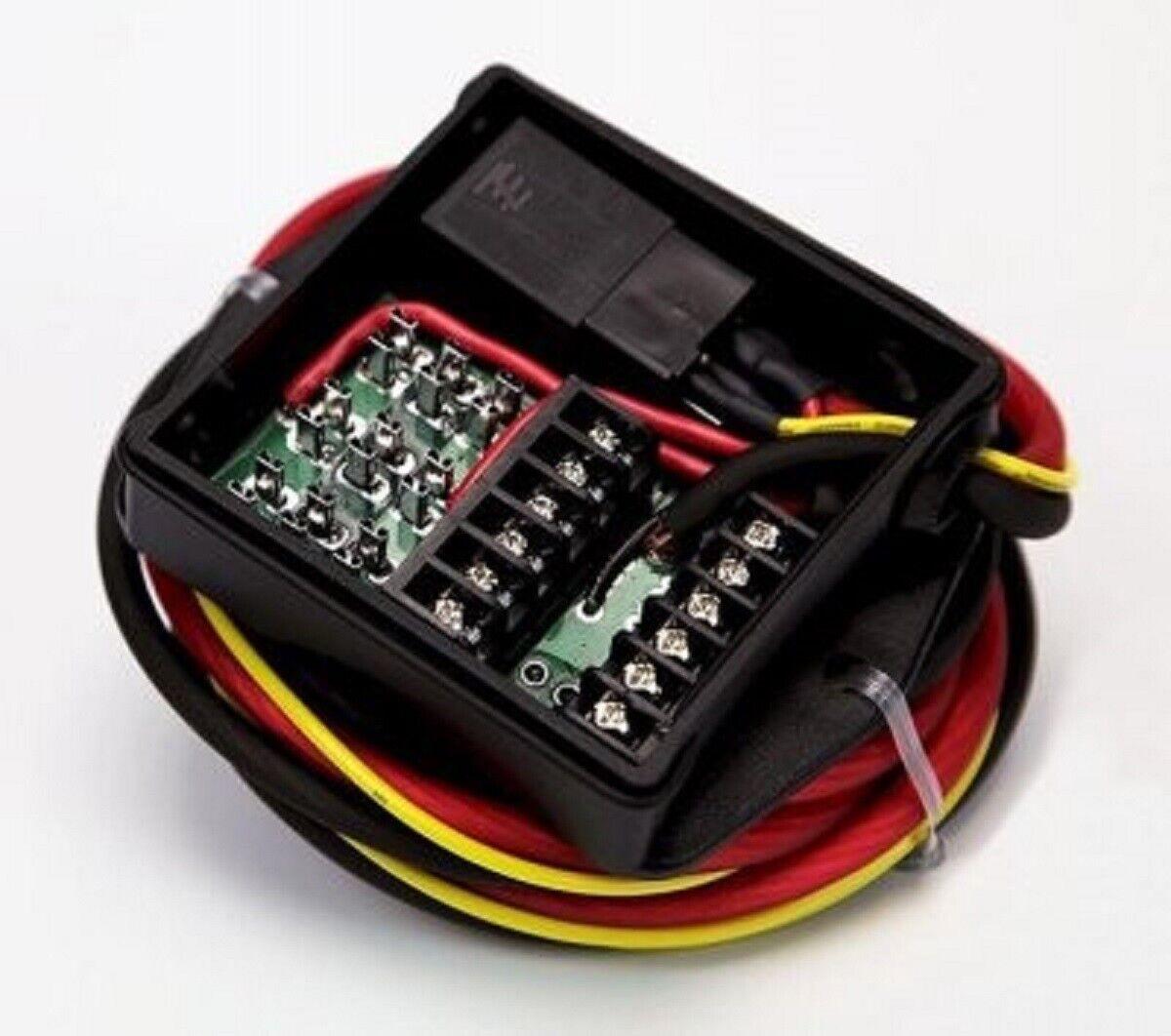 Denali PowerHub2 Motorcycle//Bike Electronic Device Power Distribution Module