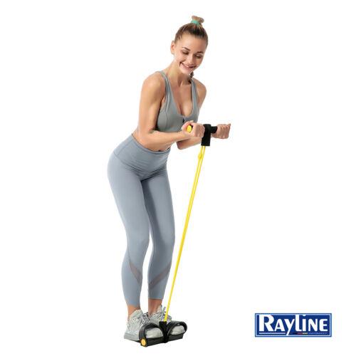 Rayline Sit-Up Expander Elastisches Zugseil Bauch Training-Fitness-Bodybuilding
