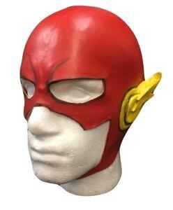 UK-Rouge-Flash-Marvel-LATEX-ADULTES-ENFANTS-FANTAISIE-Habillage-Halloween