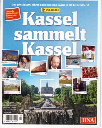 Kassel recopila Kassel//vacío sticker álbum//2013