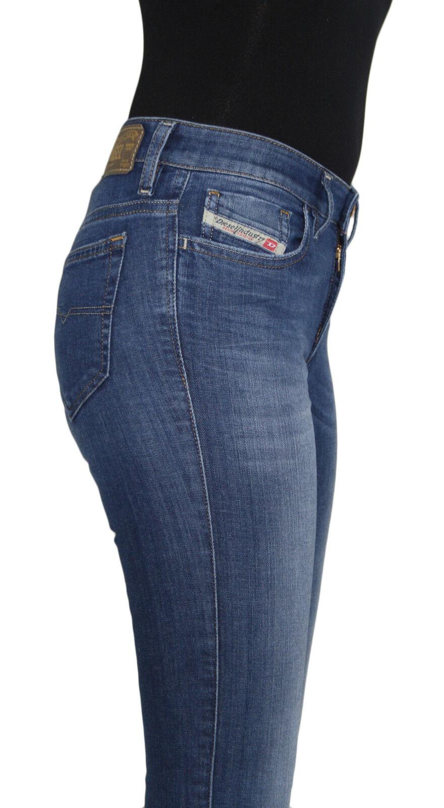 Nuevo con etiquetas Diesel Marca Para Mujer Skinzee súper Slim  Skinny Jeans Elástico Legging 826F  lo último