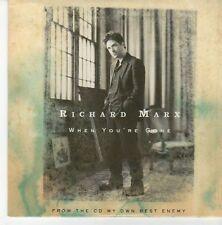 (EB185) Richard Marx, When You're Gone - 2004 DJ CD