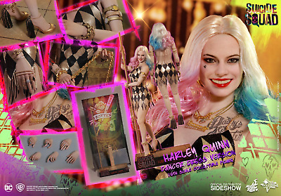 Hot Toys Suicide Squad HARLEY QUINN Dancer Dress Version 1//6 Scale Figure 903185
