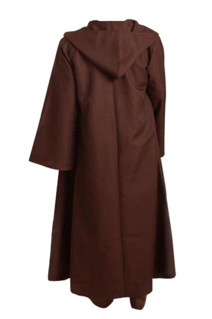 Cosplaysky Star Wars Jedi Robe Obi-wan Halloween Outfit Brown Version Small for sale online | eBay