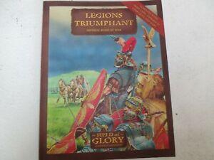 Brillant Field Of Glory-légions Triomphant Rome Impériale En Guerre De Règle-afficher Le Titre D'origine