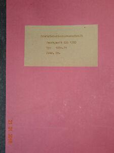 KSG1300-Sendegeraet-KSG-1300-Inbetriebsetzungsvorschrift-RFT-Funkwerk-Koepenick